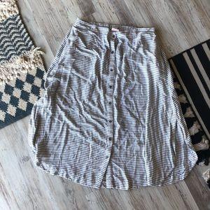 Merona Stripe Skirt